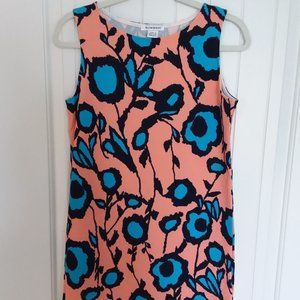 Glamorous Knit Floral Tank - 60s Inspired Size M